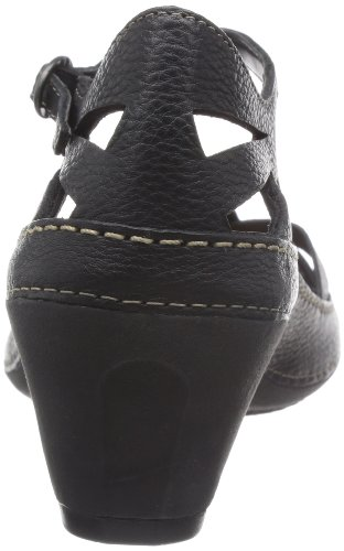 Leather Rebel Black Ankle Clarks Black Womens Gothic EPnqnvawY