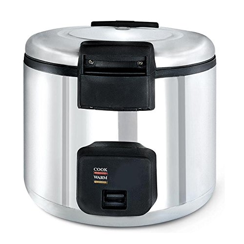 Chef's Supreme - 33 cup Stainless Rice Cooker / Warmer (Steamer Restaurant Commercial)