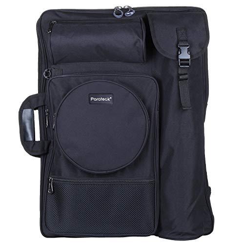 Welldeal Heavy Duty Art Portfolio Carry Case Bag Backpack 26