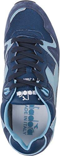 Diadora V7000 Italia 582 herensneaker (Air Blue/Dark Blue)
