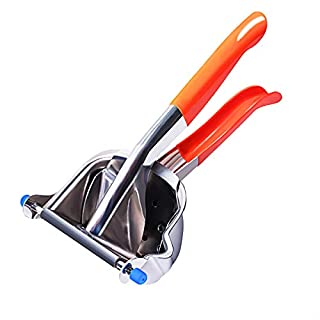 Zaorcah 304 Stainless Steel Manual Fruit Juicer,Lemon Squeezer, Citrus Squeezer Press Hand Juicer with Easy Pour Spout