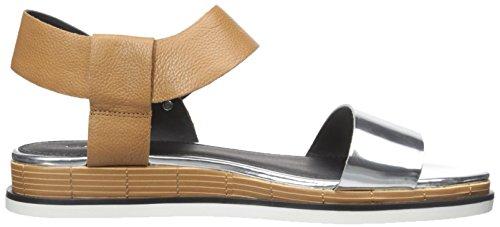 Delle Tan Sandalo D'argento Klein Vestito Mandorle Calvin Donne Cadan q8ztrgw8
