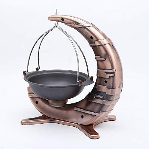 MOM AI Pot Suspendu, en Forme de Croissant créatif en Vedette Batterie de Cuisine Casseroles pan poêle Anti-adhésive Convient pour Wok, Barbecue, Ferme, Poissons grillés