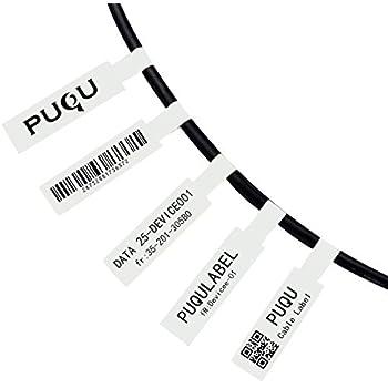 Amazon Com Puqulabel Self Adhesive Cable Label Compatible For Puqu