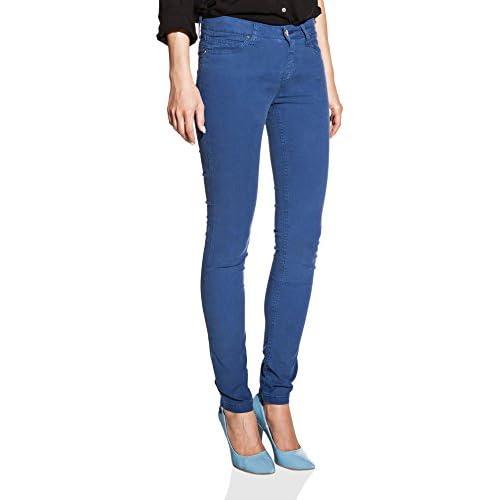 OranJeans - 0C241 Pantalon Mujer con Tejido Tipo Sarga Fina c9ec790a1207