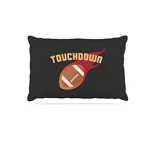 KESS InHouse Kess Original Touchdown Xlvi Sports Football Dog Bed, 30  x 40