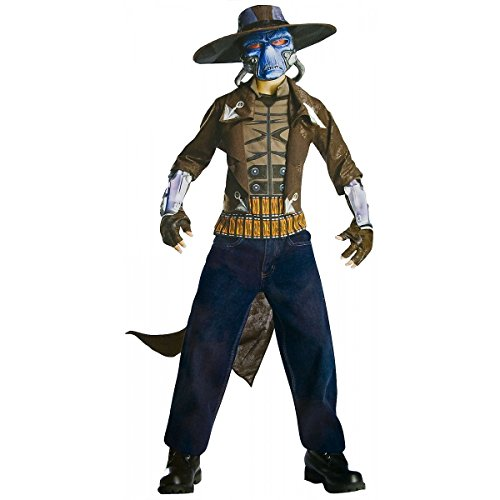 Star Wars The Clone Wars, Child's Deluxe Costume And Mask, Cad Bane Costume (Bane Masks For Halloween)