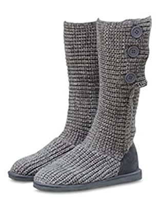 Amazon.com | Maybest Womens 3 Buttons Snow Boot Knitted