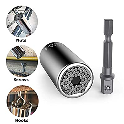 Universal Socket Grip Adapter LEBERNA 4 PCS | Multi Functional Sockets Set Ratchet Power Drill Bit Wrench 1/4