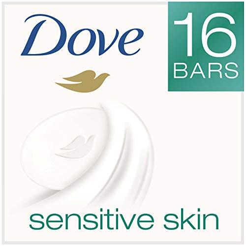 Dove Beauty Bar, Sensitive Skin,4 Ounce,16 Count