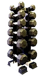 Ader Vertical Dumbbell Rack for 6 Pairs (Rack Only)