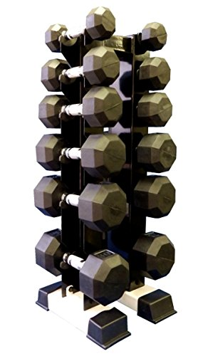 Ader Vertical Dumbbell Rack for 6 Pairs (Rack Only) by Ader