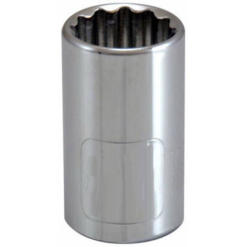 "Standard Plumbing Supply 105437 APEX TOOL GROUP-ASIA Master Mechanic 1/2"" Drive Socket, 7/8"""