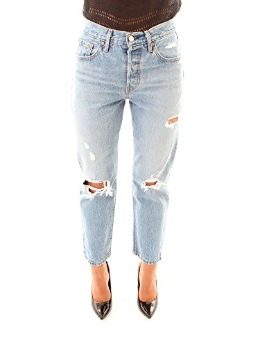 0012 Light Blue 36200 Pantalones Denim Vaqueros Levi's Mujer z8PCw8q