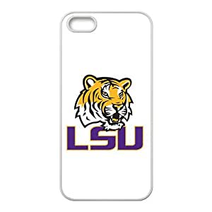 NCAA Lsu Tigers White For Ipod Touch 4 Phone Case Cover