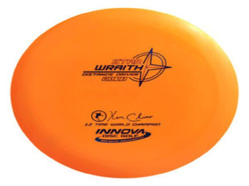 (Innova Disc Golf Champion Material Bottom Stamp Star Wraith Golf Disc, 170-172gm (Colors may)
