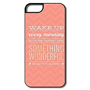 Alice7 Sayings Case For Iphone 5,Cute Iphone 5 Case
