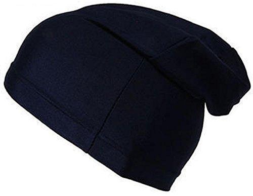 Black Spandex Dreadlock Skull Cap - Regular OSFM ()
