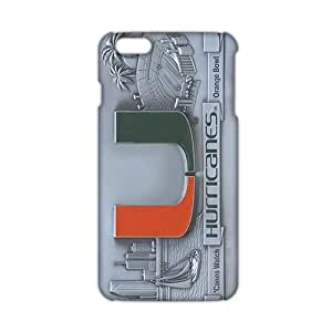 Angl 3D Miami Hurricanes Logos Phone Case For Samsung Note 2 Cover plus