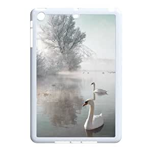 Chaap And High Quality Phone Case For Ipad Mini Case -Swan Ballet Dancing Pattern-LiShuangD Store Case 18
