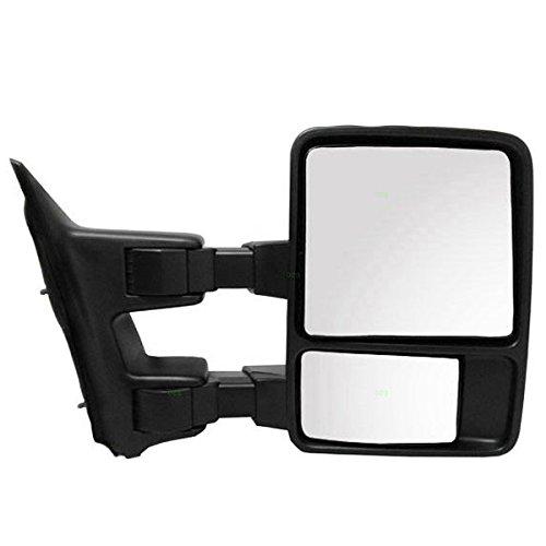 (08-13 SuperDuty Pickup Truck Manual Telescoping Fold Mirror Right Passenger)