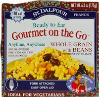 St. Dalfour Gourmet On The Go Whole Grain with Beans -- 6.2 oz by St. Dalfour (Image #1)