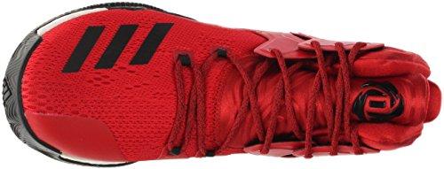 Adidas Sm D Rose 7 Ncaa Black; Rosso