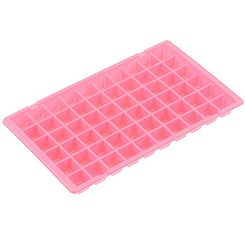 Crocodile Grids 60 Cavity Small Ice Maker Tiny Ice Cube Trays Chocolate Mold Mould Maker Molds for Kitchen Bar Party Drinks with Variety Color
