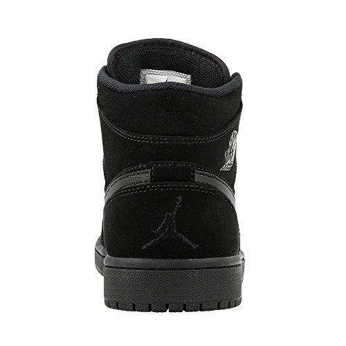 Nike Air Jordan 1 Retro High OG, Scarpe da Ginnastica Uomo black-white-black (554724-040)