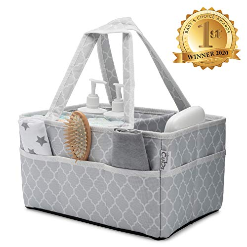 Baby Diaper Caddy Large Organizer Bag Portable Basket for Car Bedroom Travel Storage Changing Table