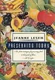 Preserving Today, Jeanne Lesem, 0394586530