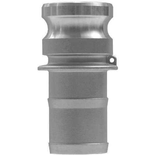 Cam End (JGB Enterprises 030-05096-896CI Aluminum Type E Cam and Groove Fitting, 6