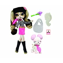 Pinkie Cooper Deluxe Travel Collection Doll and Pet Paris by Pinkie Cooper