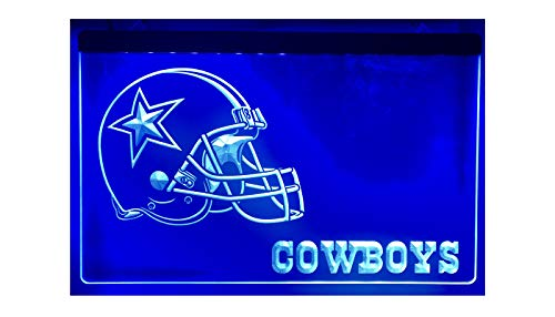 Dallas Cowboys Football Led Light Sign