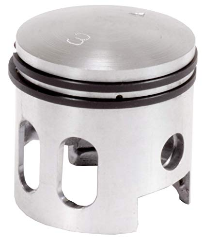 66/80cc 2-Stroke Dual Window Piston #3 for Bicycle Engine Kits- Flying Horse, ZEDA, Grubee, and - Stroke 2 Piston
