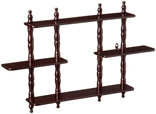 Frenchi Furniture 3 Tier Wall Shelf