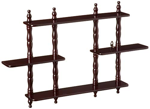 Frenchi Furniture 3 Tier Wall Shelf (Best Hindu Temples In Usa)