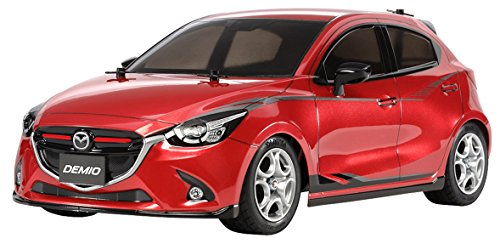 (Tamiya 58640 RC Mazda2 M-05 1/10 On-Road Kit)