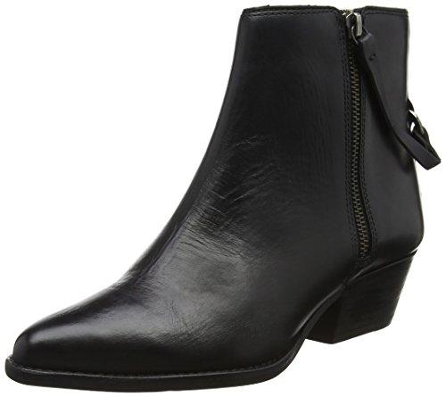 Hudson London Ladies Larry Boots Black (nero)