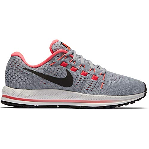 Femme Gris Platine Coloured Noir Gris Rouge Pur Multi Vomero Nike 12 Air Cocktail Chaussures Brillant Rouge WMNS Gris Zoom Loup de Lave Course qvR8ST