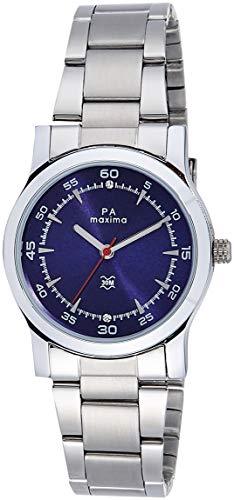 Maxima Analog Blue Dial Women's Watch   28023CMLI