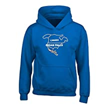 Canada Cedar Falls Mexico Funny Live In City Proud Gift - Adult Hoodie S Royal