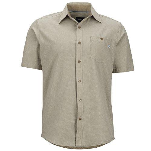 Marmot Windshear Shirt - Men's Light Khaki, (Marmot Trail Light)