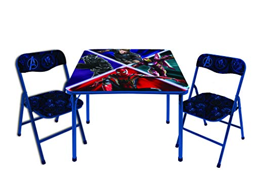 (Marvel Avengers Infinity War 3 Pc Table & Chair Set, Multicolor)
