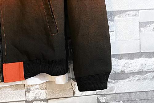 a1c33d78330fc Les Dégradée Hommes Marée Combinaison Pour D automne Jeunes Manteau  Baseball Code Blousons Gray De Veste ...