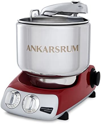 Ankarsrum Assistent Original AKM 6230 Electric Stand Mixer, 7.4 Quart Red