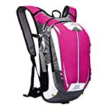 hAohAnwuyg Cycling Backpack,18L Outdoor Bicycle Bike Waterproof Breathable Cycling Climbing Hiking Backpack