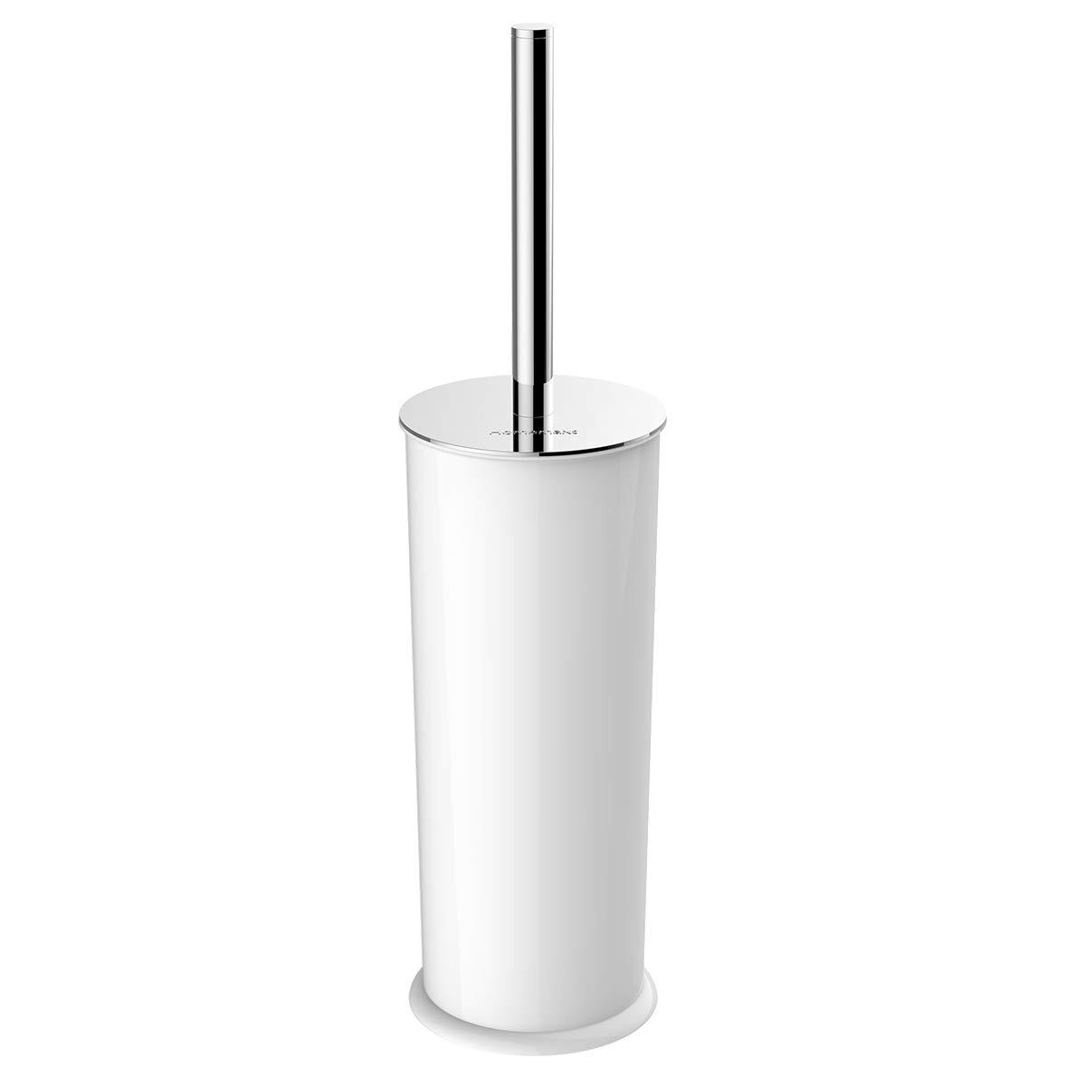 Homemaxs Toilet Brush and Holder 【2019 Upgraded】 Toilet Bowl BrushToilet Brush with 304 Stainless Steel Long Handle for Bathroom by Homemaxs