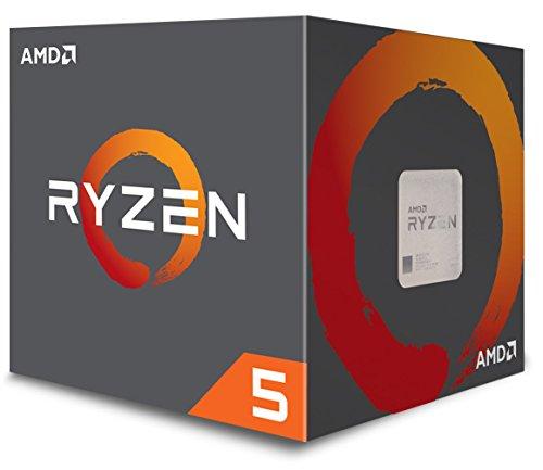 Procesador AMD Ryzen 5 1600 con refrigerador Wire Spire (YD1600BBAEBOX)