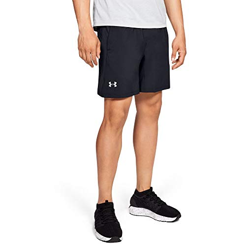Under Armour Launch SW 2-in-1 Shorts, Black//Reflective, Medium by Under Armour (Image #1)